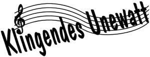 Logo Klingendes Unewatt - das Sommerkonzert der Kreismusikschule Schleswig-Flensburg im Landschaftsmuseum Angeln/Unewatt