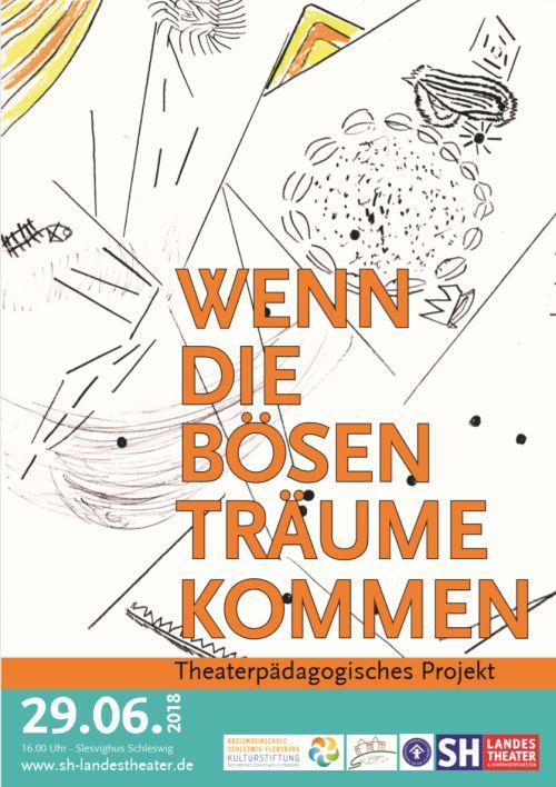 Theater-Projekt 'Wenn die bösen Träume kommen' 29.6.2018