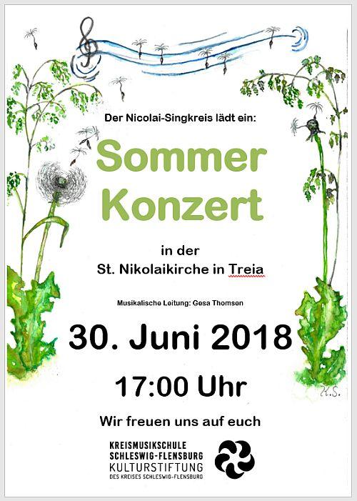 Sommerkonzert des Nikolai-Singkreises