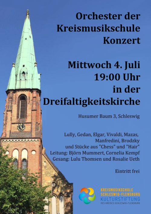 Sommerkonzert des Orchesters Schleswig