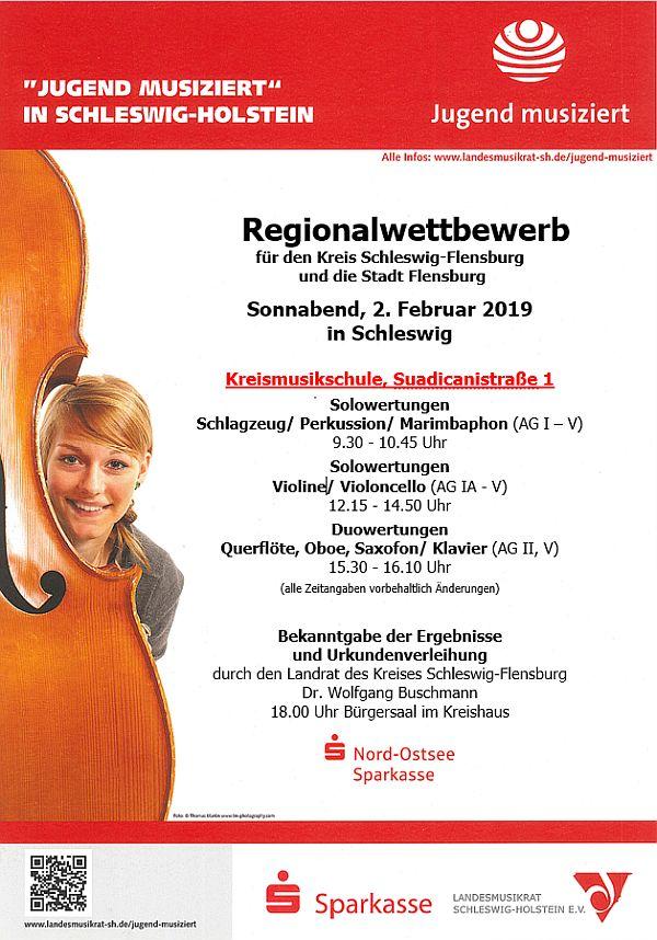 Regionalwettbewerb 'Jugend musiziert' 2019