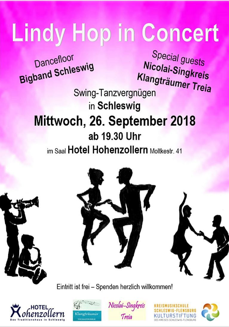 Lindy Hop in Concert 2018