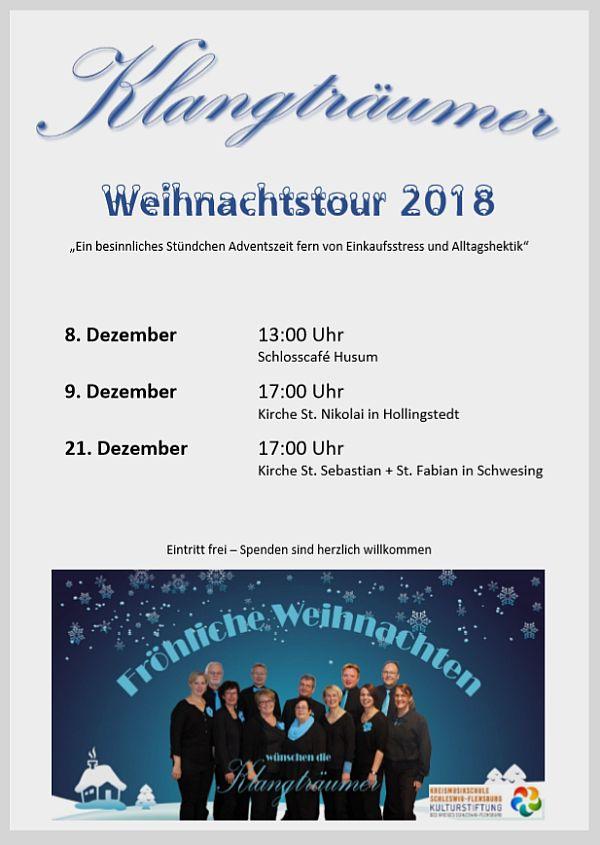 """Weihnachtstour der """"Klangträumer"""""""