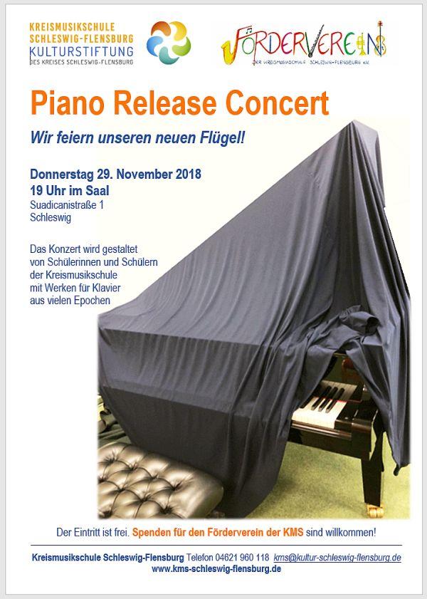 Piano Release Concert