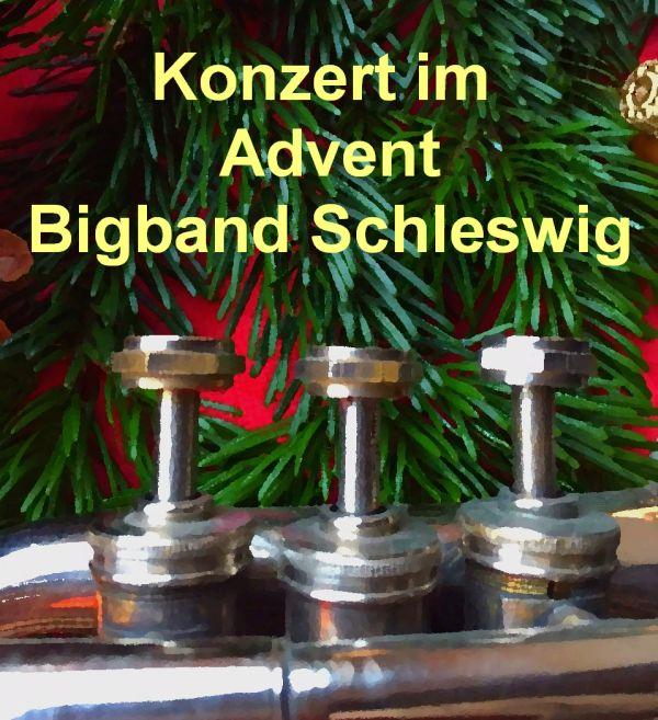 Weihnachtskonzert Bigband Schleswig 2018