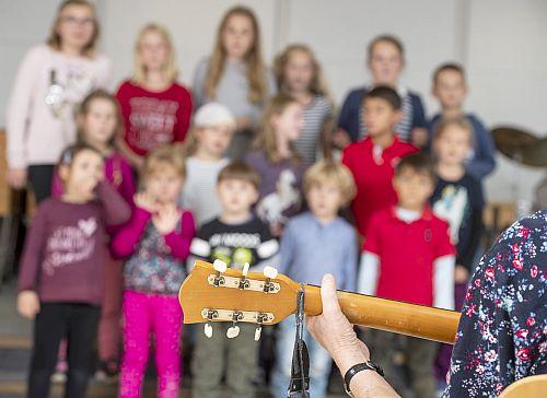 Kinderchor in Tarp - Foto: Tim Riediger 2018
