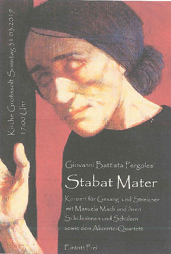 'Stabat Mater' Konzert 31.3.2019