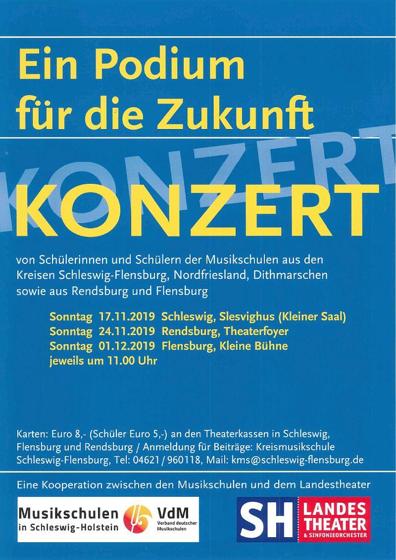 Ein Podium für die Zukunft - Konzert 17.11.2019