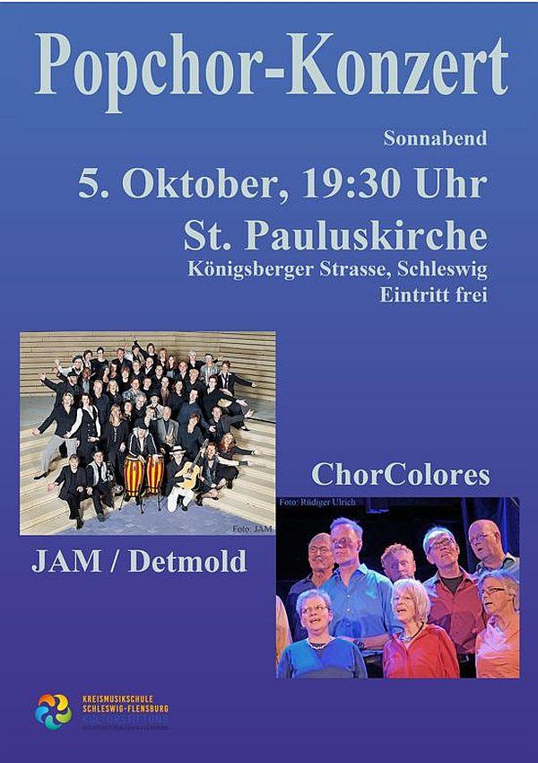 Popchor-Konzert  5.10.2019