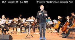 DDM Haderslev 2019: Orchester Sønderjylland-Schleswig-Pops Leitung Willi Neu