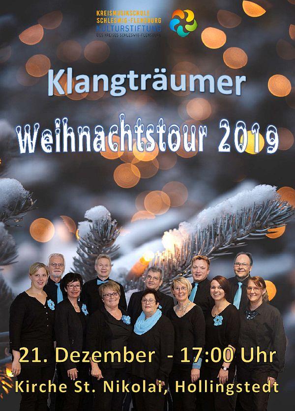 Klangträumer Weihnachtstour Hollingstedt 21.12.19