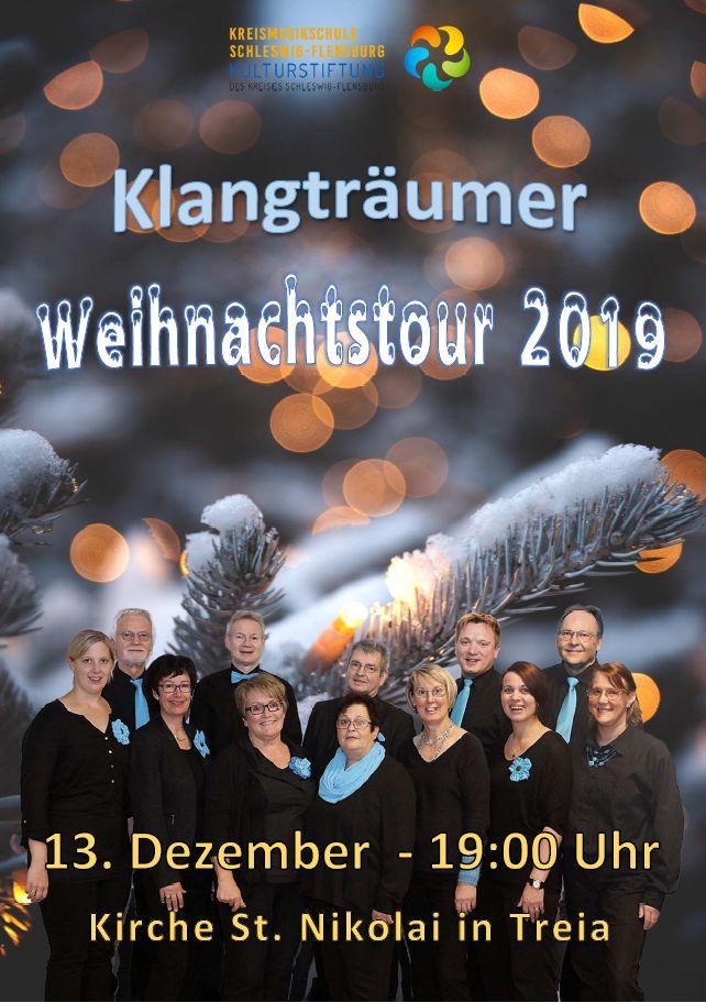 Klangträumer Weihnachtstour 2019 Treia 13.12.19