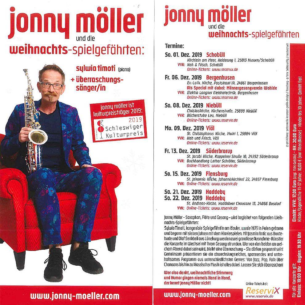 2019 Jonny Möller - Weihnachtstournee