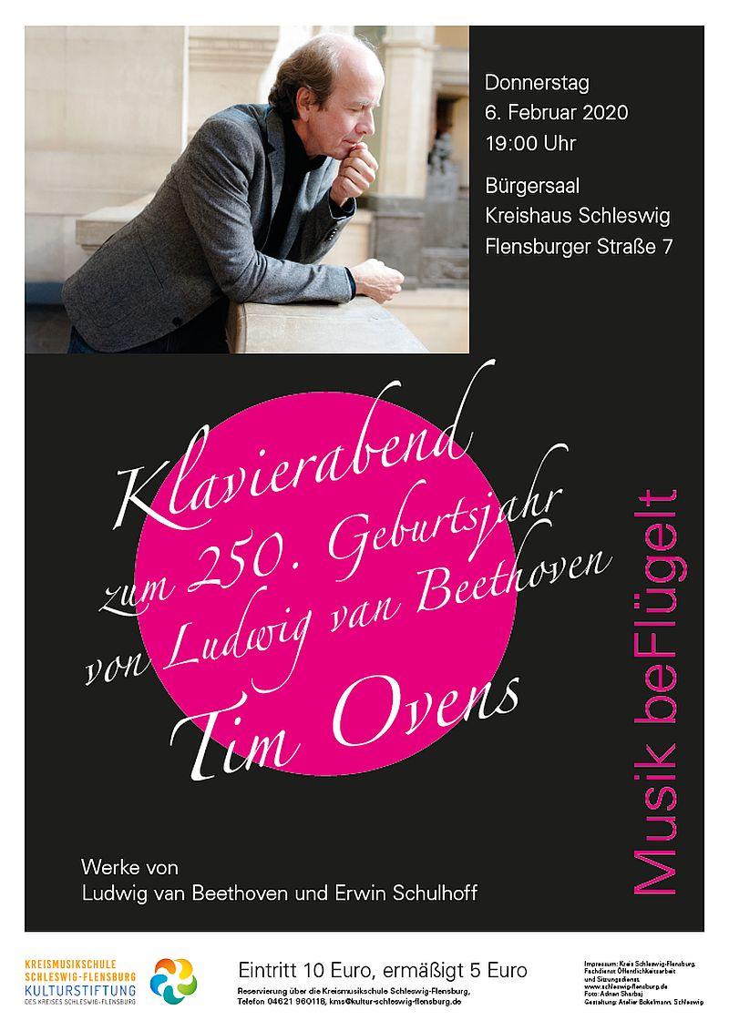 Tim Ovens - Klavierkonzert Beethoven zum 250. Geburtsjahr