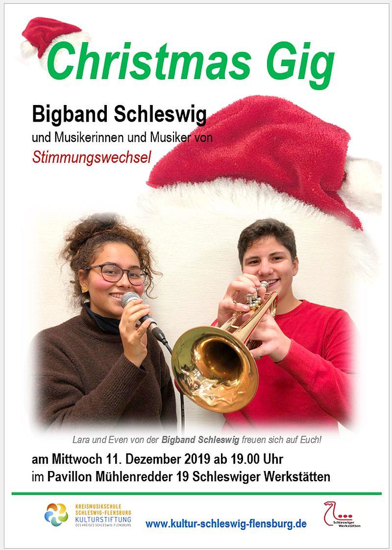 Bigband-Weihnachtskonzert Mühlenredder 11.12.2019