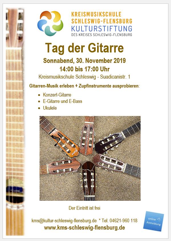 Tag der Gitarre 30.11.2019