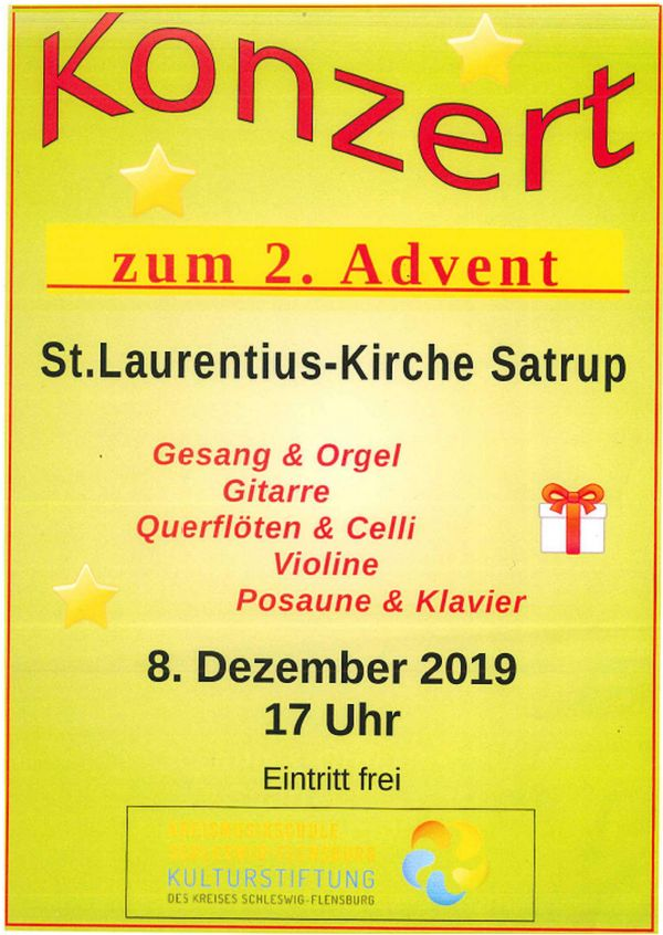 Konzert zum 2. Advent - 8.12.2019