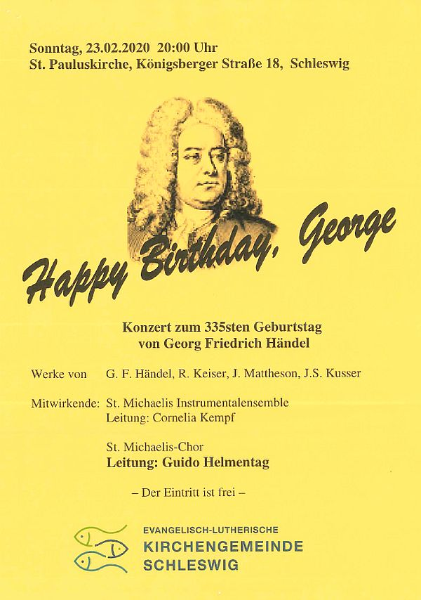 Happy Birthday, George  23.2.2020