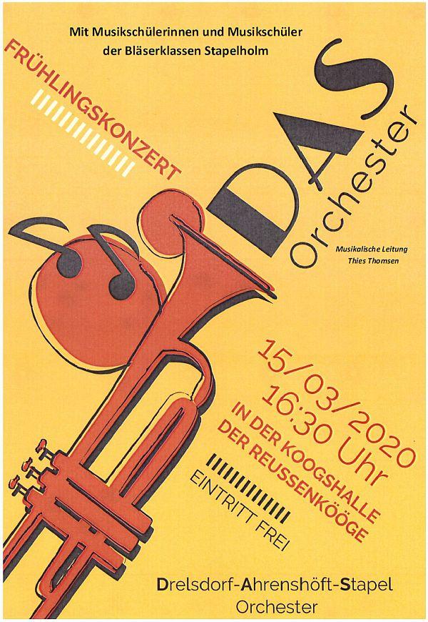 Frühlingskonzert DAS-Orchester