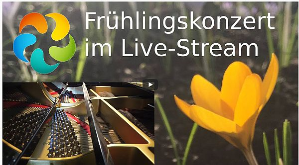 Frühlingskonzert im Live-Stream