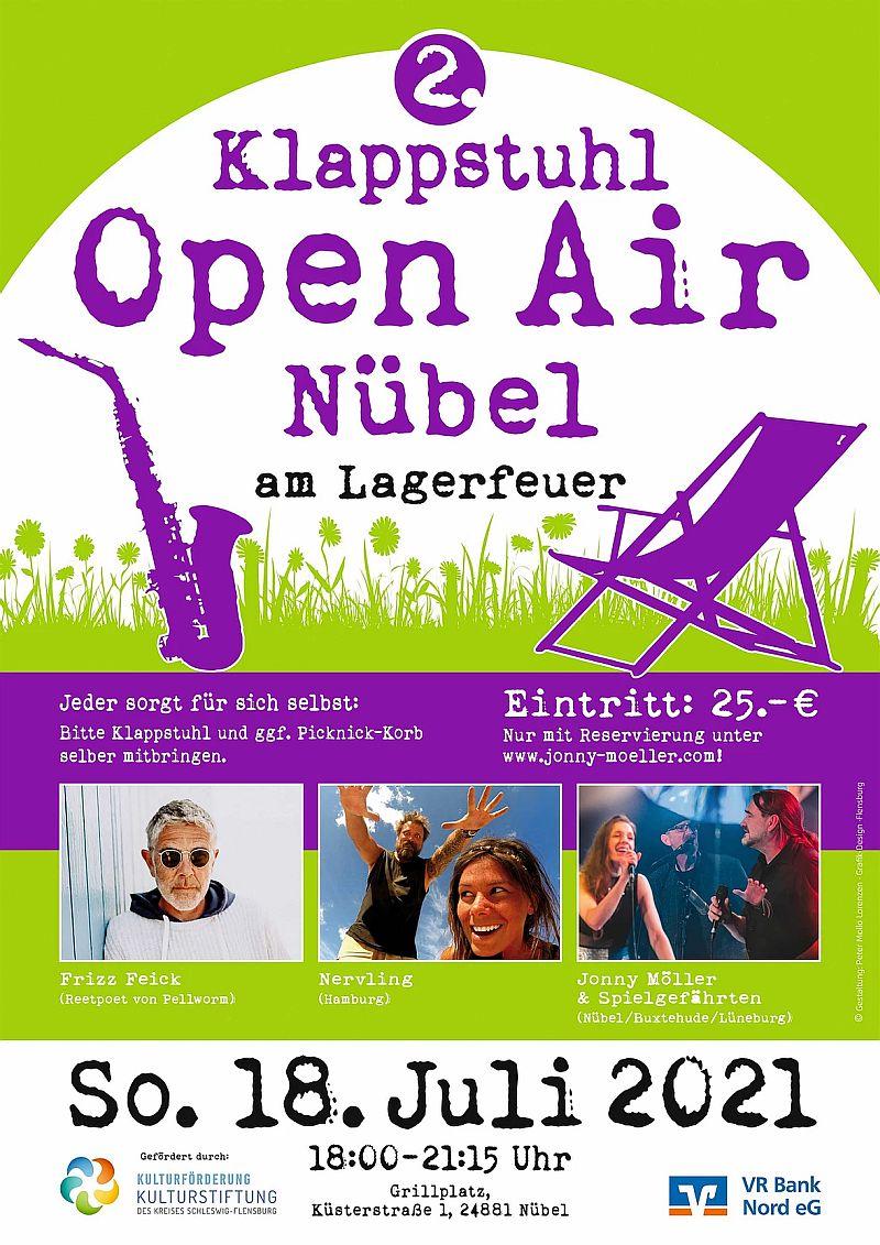 Klappstuhl-Open-Air in Nübel