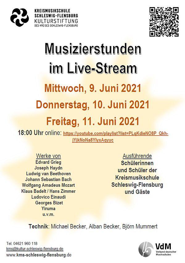 Musizierstunden im Live-Stream